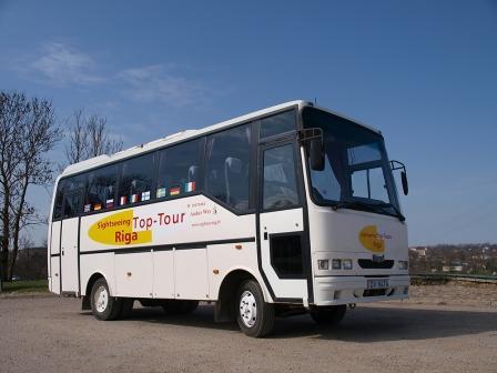 Autobusu noma ar šoferi cenas